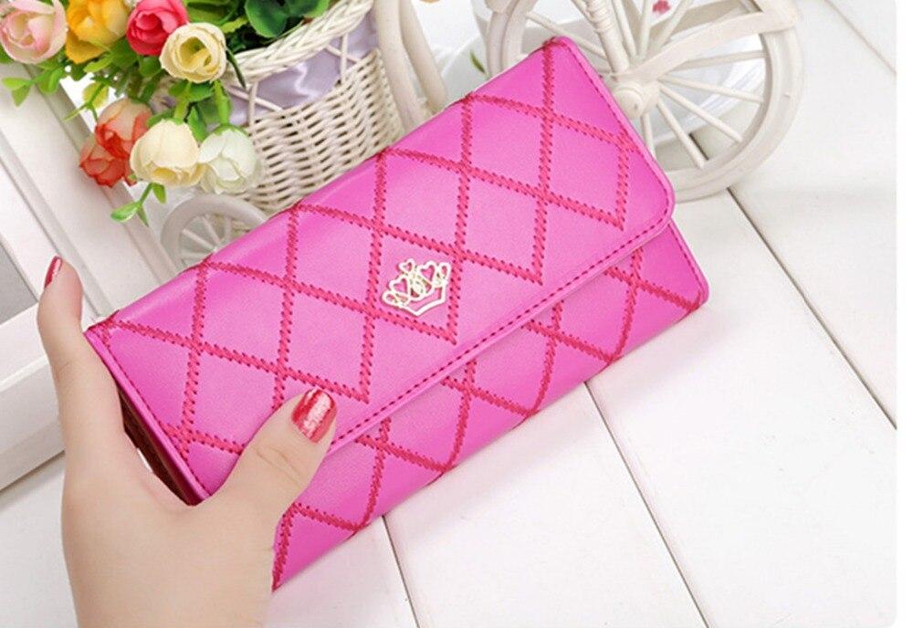Long Wallets Purses Pocket Phone Money-Coin Fashion Ladies Card-Holder Clutch-Bags Women