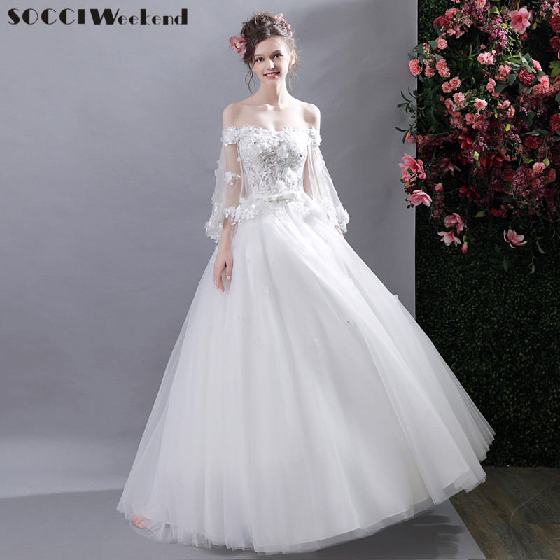 Online Get Cheap Sweetheart Strapless Wedding Dresses Aliexpress