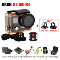 Action Camera H8 Pro Ultra HD 4k 30fps H8R 1080p 60fps Original EKEN Remote Controller Pro