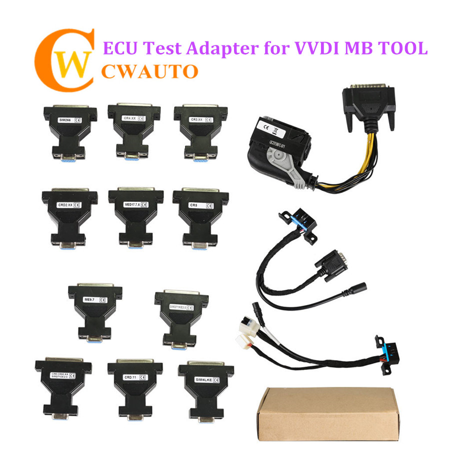 ECU Test Adapter Work With VVDI MB Tool/KESS V2/KTAG/NEC PRO57 new version v2 13 ktag k tag firmware v6 070 ecu programming tool with unlimited token scanner for car diagnosis