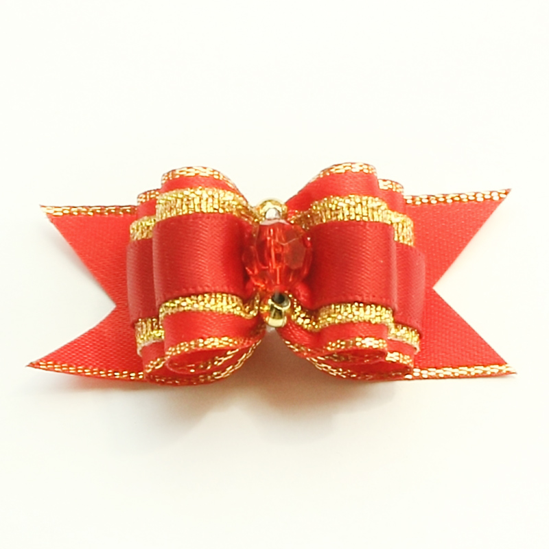 Armi store Handmade Accessories Pearl Dog Ribbon Bow Hair Dogs Bows 6022029 Pet Grooming Supplies 7 Styles