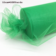 Soft Organza Roll Fabric for Wedding Decoration 92m X 15cm Swag Sheer Chair Sashes Table Runner Party Festive