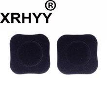 XRHYY – oreillettes en mousse de remplacement, coussinets d'oreille pour casque sans fil Logitech H150 H130 H250 H151 (noir)