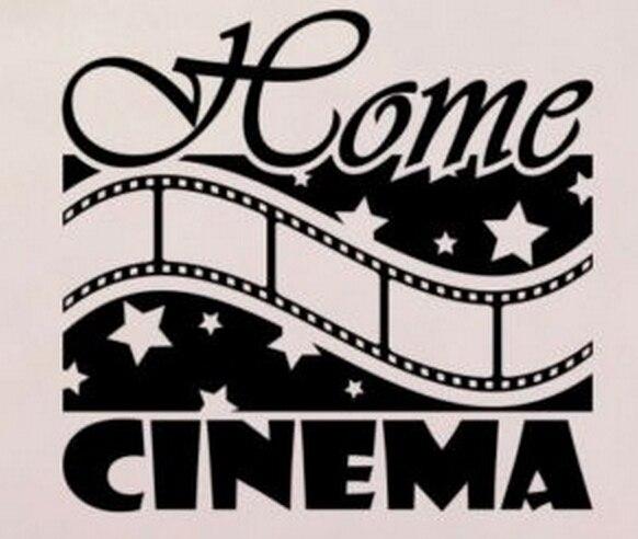 Buy cinema vinyl wall decal movie film - Stickers cinema mural ...