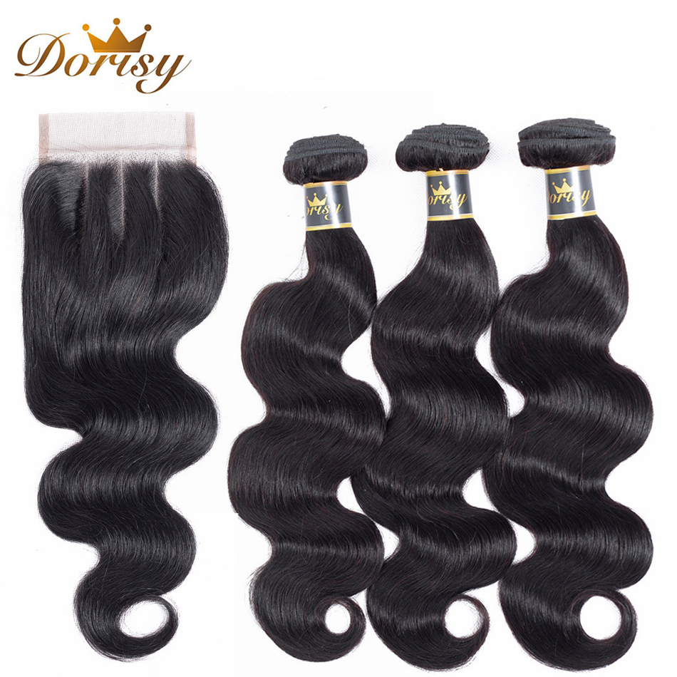 Dorisy Hair Peruvian Natural Color Body Wave 100% Human