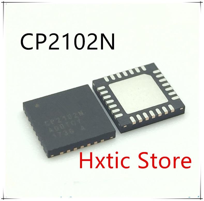 5PCS LOT CP2102N A01 G CP2102N A01 GQFN28 CP2102N QFN28