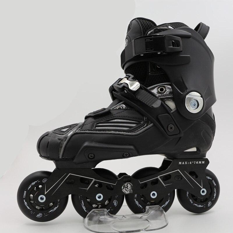 Les adultes professionnels glissent les chaussures de patins à roulettes renforcent la Base de cadre de patinage roues en polyuréthane durables de glissement de frein pour SEBA HL HV