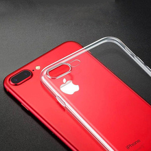 Silicone Ultra Thin Soft Cell Phone Case For iPhone 6 s 6S 7 8 Plus 5 5S 5C SE 5SE 4 4S 6Plus 6SPlus 7Plus 8Plus 360 Cover
