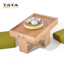 Modern Asian Style font b Tea b font Table Furniture Design Two Cushion Seat Low Coffee