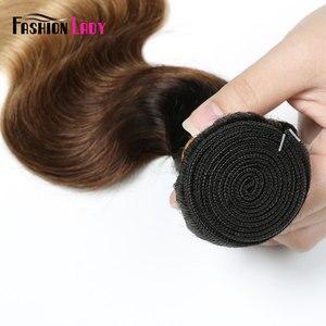 Image 5 - Ondulada de cabelo, moda, pré colorido, cabelo humano, ondulado, pacotes 1b/4/27 1/3/4 pacotes por pacote não remy