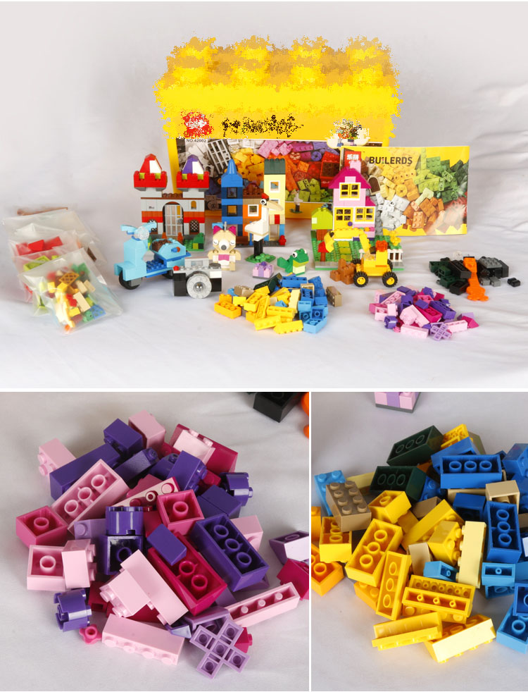 US $14 57 |885pcs Lepin 42002 Compatible with Lego 10698 Classic Large  Creative Brick Box Building Blocks DIY Creative Toys for Children-in Blocks
