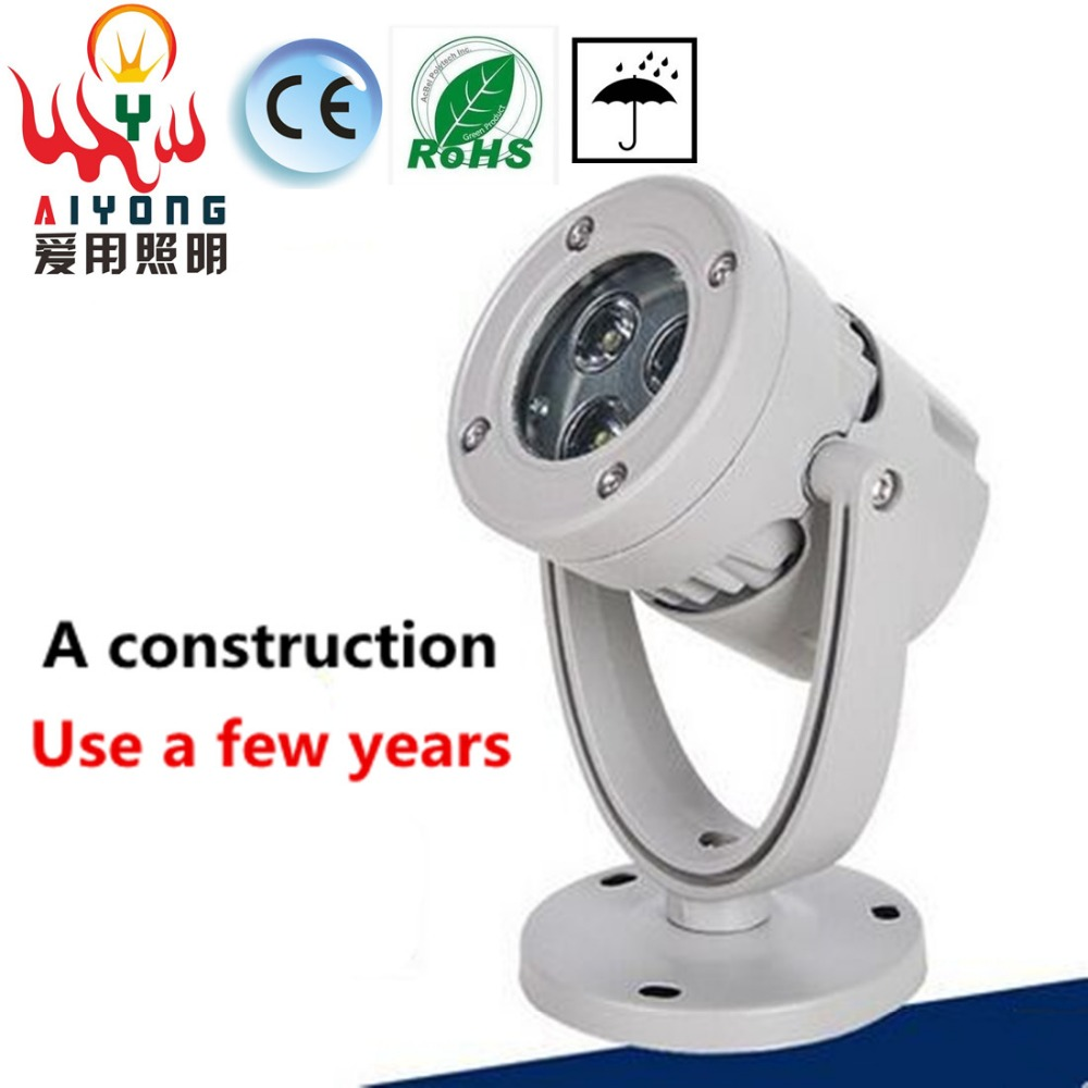 Free shipping the LED lamp 6 w project-light lamp courtyard focusing LED lamp small shoot the light waterproof outdoor lawn lamp led track light50wled exhibition hall cob track light to shoot the light clothing store to shoot the light window