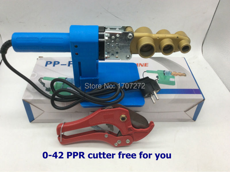 Constant Temperature Electronic Plastic Welding Machine, Ppr Welding Machine AC 220V 600W 20-32mm With A Ppr Scissor