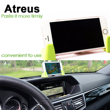 Atreus 3pcs Dashboard Car Mobile Phone GPS Holder Bracket Kit For Mercedes benz W204 W203 W211 AMG Mini cooper Skoda octavia a5 image