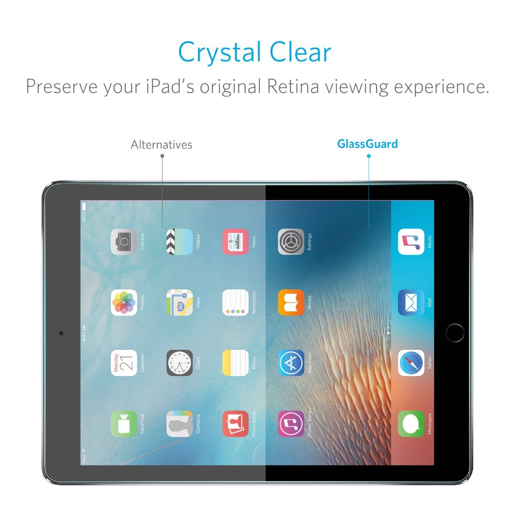 Tempered Glass for iPad 9 7 Glass 2017 2018 for ipad 9 7 Screen Protector For