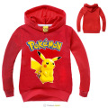 Pokemon Go Kids Clothes Boys Hoodies and Sweatshirts Girls Pikachu Hoodie Baby Pokemon Clothes Long Sleeve Children Clothing