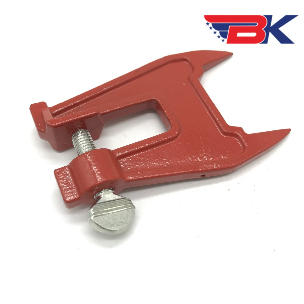 Stump Vise Professional Chainsaw Saw Chain Sharpening Filing Tool Bar Clamp US