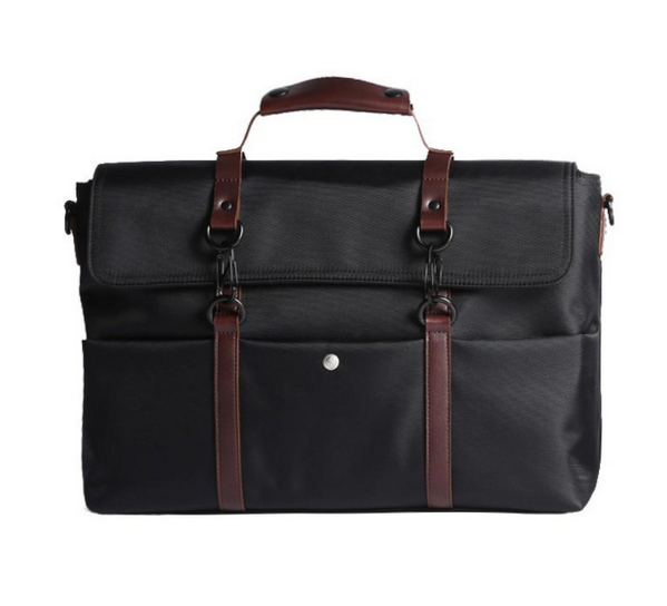 New Retro Waterproof Men Business Briefcases Male Crossbody Shoulder Laptop Messenger Bags Simple Travel Casual Handbags D256