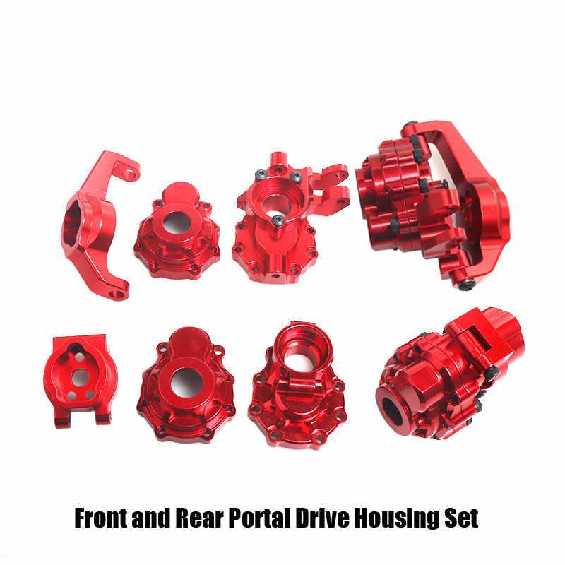 1//10 RC Car Rear C-Hubs Caster Blocks for  TRX-4 Upgrade Parts