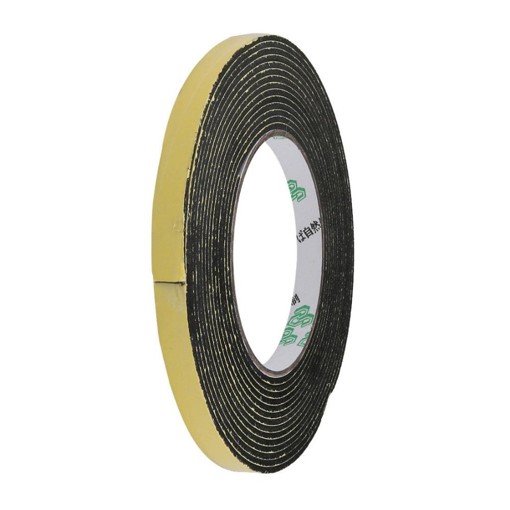 1PCS 2 Meters 5mm x 5mm Single Side Adhesive EVA Foam Sealing Tap 85mm 33 meters 0 08mm single side high