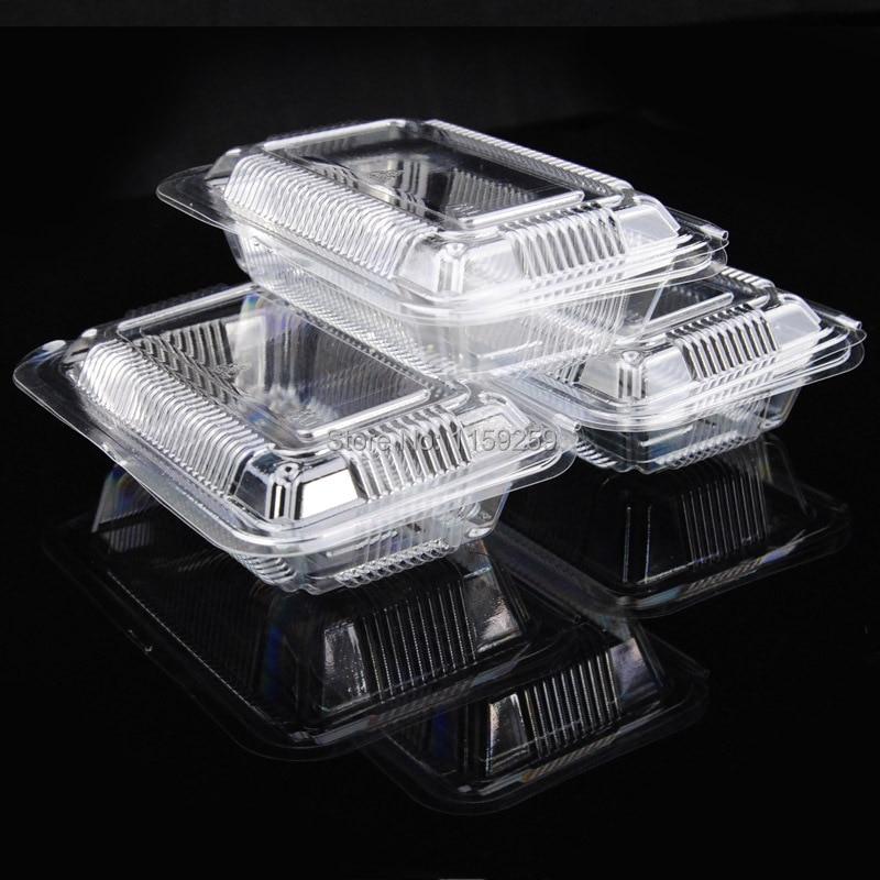 Meida caja de embalaje pastel transparente desechable - Caja transparente plastico ...