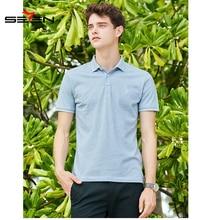 Seven Men's Polo Shirt Short Sleeve Casual Male Shirt Mens polo Shirts 4XL Polo Shirt Men Plus Size 3XL 4XL Summer 116T58060