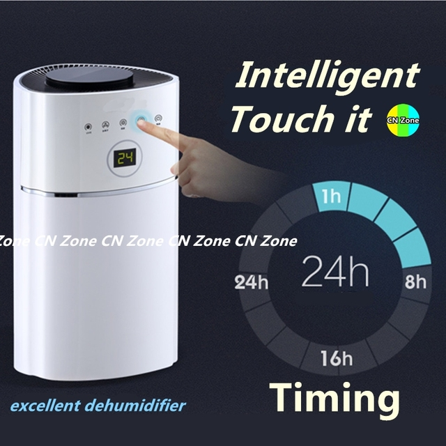 Multifunction Electric Intelligent Dehumidifiers Timing UV Light Purify Air Dryer Machine Moisture Absorb Smart Home Appliances Appliances