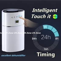 Multifunction Electric Intelligent Dehumidifiers Timing UV Light Purify Air Dryer Machine Moisture Absorb Smart Home Appliances