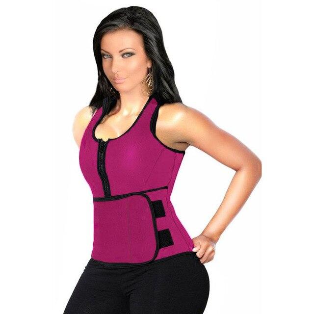Новый Розовый Черный Женщины Жилет Bodyshaper Латекс Талии Управления Корсет Латекс Cincher Похудения Shaper Корсетные Плюс Размер XL/XXL 50018