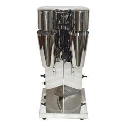 Коммерческий размешиватель для чая с двойной головкой milkshake машина Миксер для напитков блендер молочный шарик смешивающая машина