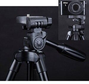 Image 5 - Yunteng 5218 카메라 삼각대 셀프 세로 모노 포드 블루투스 원격 제어 Selfie 전화 클립