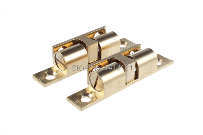 100 pieces 60mm brass cabinet Catch metal furniture Hardware part ...