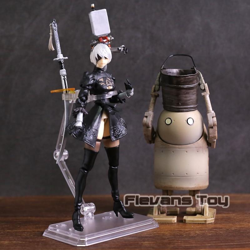 Doll Action-Figure Collectible Nier Automata Lifeform Model-Toy PVC No Yorha No.2-Type