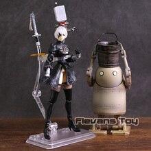 NieR Automata 2B & Machine Lifeform figura de acción de PVC, YoRHa núm. 2, tipo B, juguete de modelos coleccionables