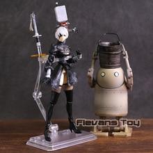 NieR Automata 2B & Maschine Lifeform PVC Action Figure Puppe YoRHa No.2 Typ B Sammeln Modell Spielzeug
