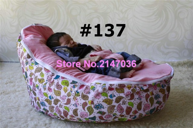 Pink Birds Baby Bean Bag Chairs/insects Design Baby Bean Bag Chair, Kids  Beanbag