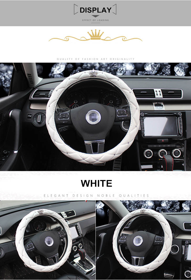 leather steering wheel cover 4
