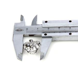 Image 5 - CLUCI 3 sztuk liście klonu serce srebro 925 wisiorek dla kobiet naszyjnik biżuteria 925 perła z polerowanego srebra wisiorek klatka SC076SB