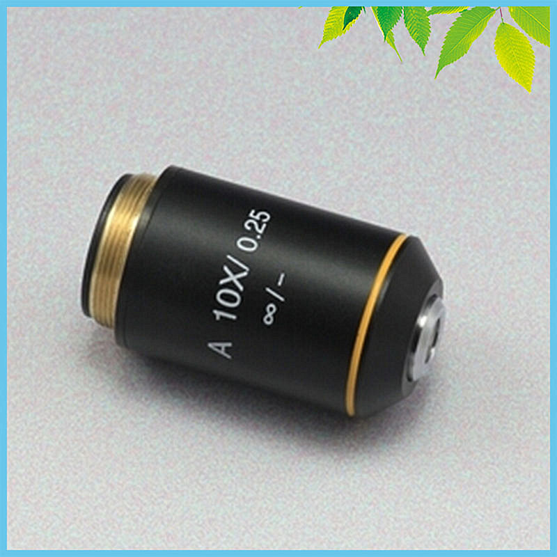 10X Achromatic Infinity Objective Lens for Biological Microscope Can be Used on Zeiss Olympus Infinity Microscope leetun a 4x 0 10 achromatic infinity objective lens for biological microscope zeiss olympus infinity microscope