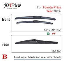 S610 26″+16″ CAR WIPER BLADE FIT FOR TOYOTA PRIUS(03-), 16A REAR WIPER BLADE, 16″ auto rear wiper blade