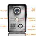 New arrival Metal video door bell  door phone Outdoor doorring doorphone IR Camera intercom video Entrance machine