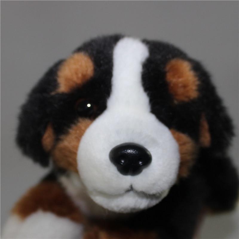 Simulation Bernese Mountain Animal Dog Mini Stuffed Dogs Toy