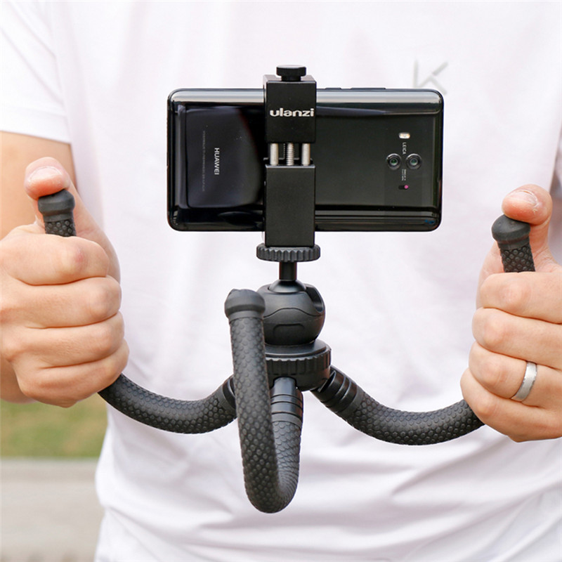 Large model Flexible Desktop Tripod Octopus Style Selfie Stick Stand Holder for Gopro Camera / SLR / DV iphone Samsung phone