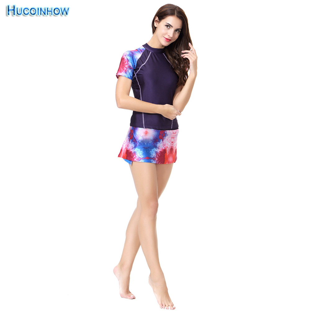 New Muslim Swimsuit Islamic Ladies' Swimwear Printed Muslim Swimming Clothes Conservative Bathing Suit Split Swim Wear muslim swimsuit in middle east women s conservative swimsuit islamic women s beach swimsuit foreign trade explosion