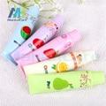 2 Pcs Creative fashion New children's mini handheld fan small fan Fruit fan ultra-quiet fan toothpaste fan Dental gifts