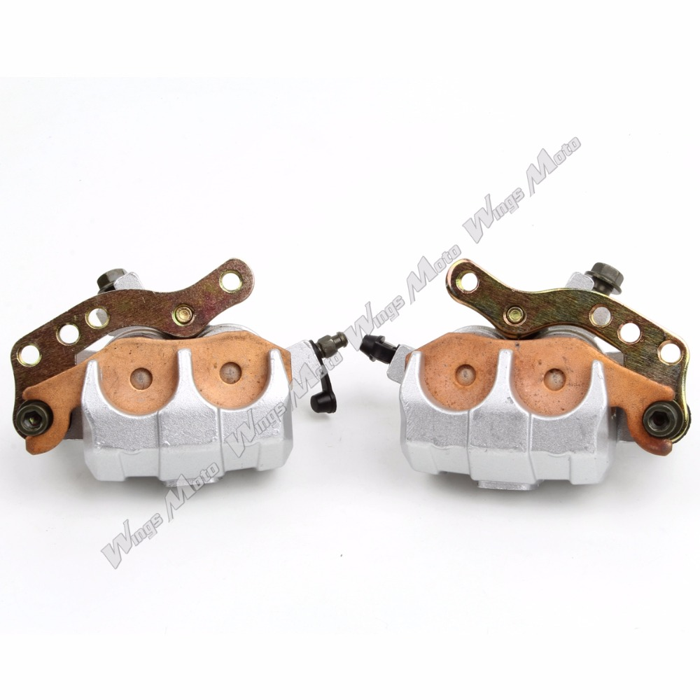Front Brake Caliper Set for Kawasaki KVF 650 KVF750 BRUTE FORCE 4x4i 2008-2013