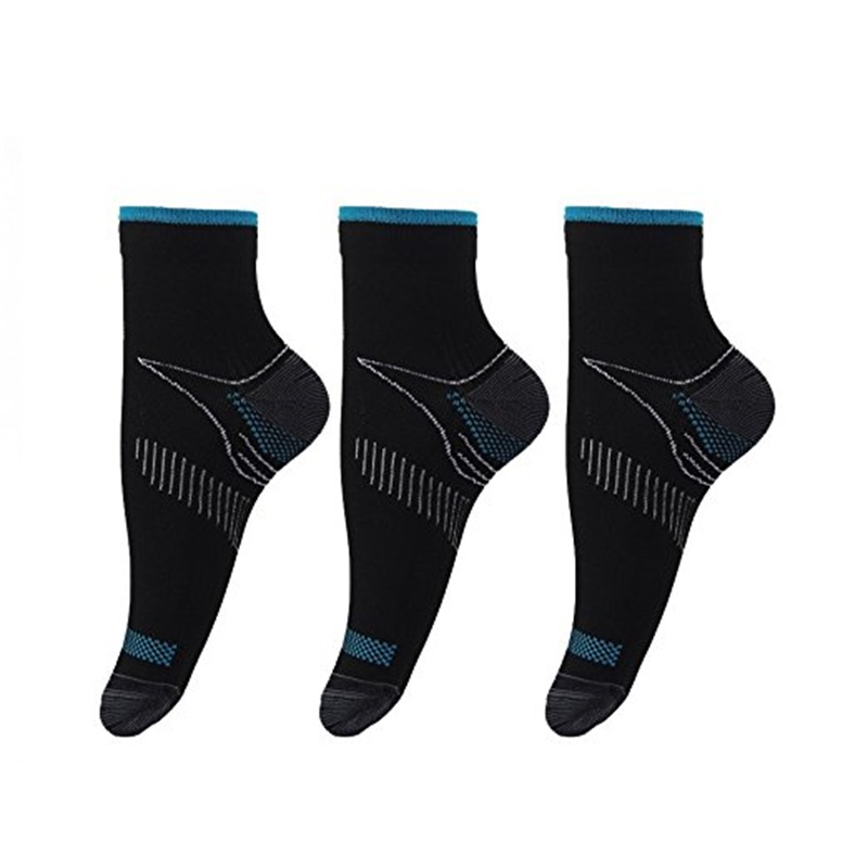 david angie Foot Varicose Compression Socks Plantar Fasciitis Heel Arch Support Sox Reli ...