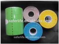CE FDA approved SL08 007 7.5cmX 5m kinesiology tape athlete sport tape musle tape