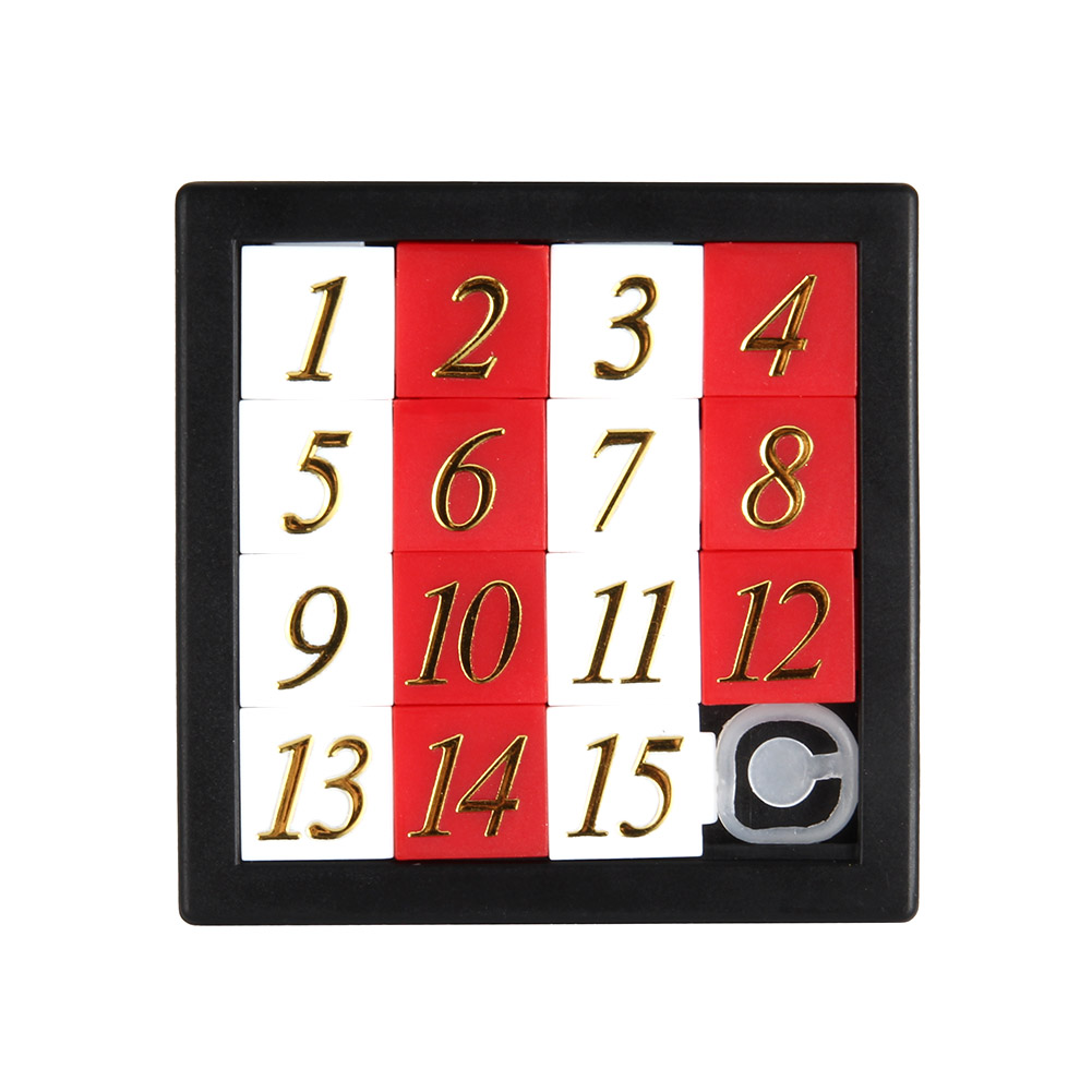 Early Educational Toy Developing For Children Jigsaw Digital Number 1-15 Puzzle Game Toys M09