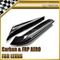 Carro-styling para lexus is250 real fibra de carbono tras splitter extensão spat addon em estoque